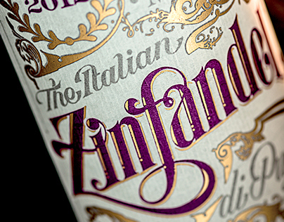 Zinfandel (Identity + Packaging Design)