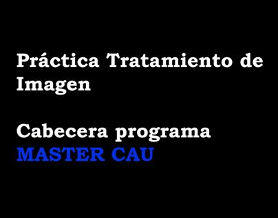 Cabecera MASTER CAU