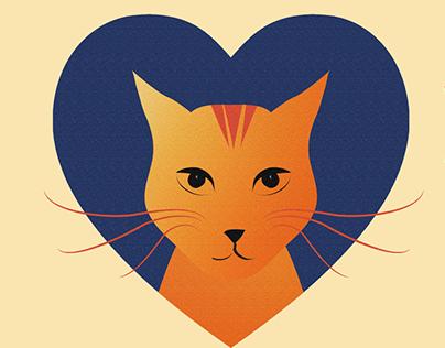 Cat shelter logo
