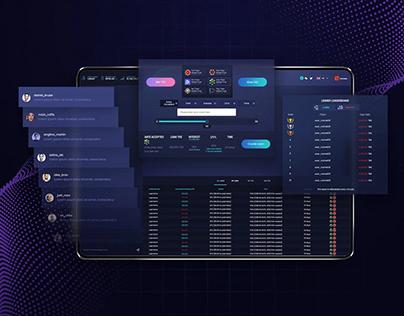 TRON - Web Application Design