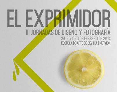 El Exprimidor III Jornadas de Diseño y Fotografía