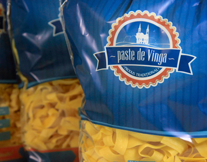 Packaging design - pasta