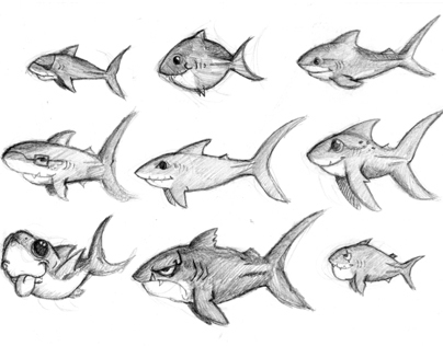 Shark Character Concept