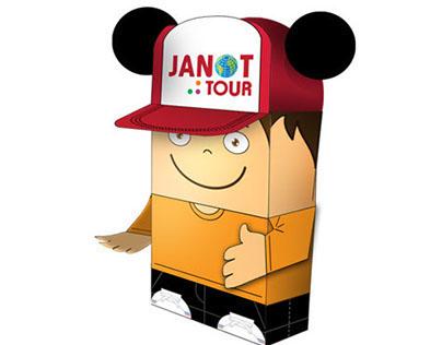 Disney é com a Janot