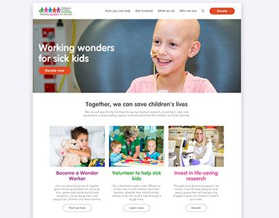 The Children's Hospital Foundation (CHF) Website