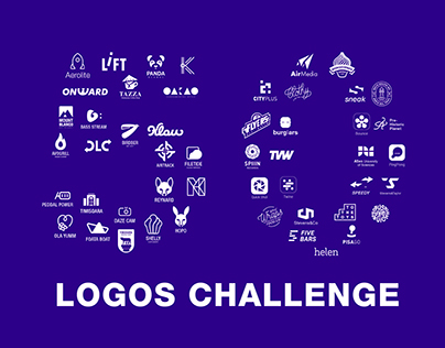 50 Days - Daily Logo Challenge