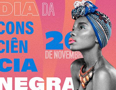 Cartazes - Dia da Consciência Negra