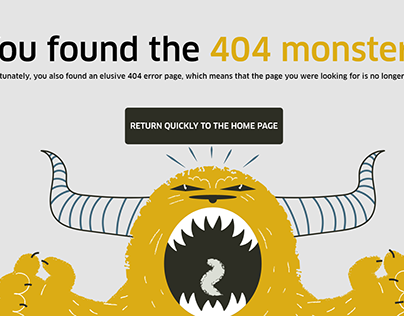 Daily UI : 008 - 404 Page
