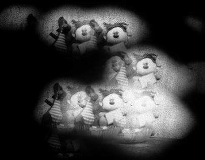 Kísérleti fénypékészet (Tesco butter biscuits camera)