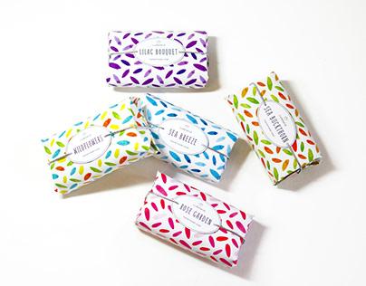 Watercolor Soap Packaging