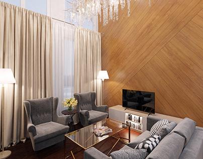 Frame house design project