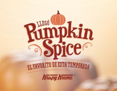 Pumpkin Spice - Krispy Kreme