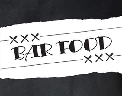 Quays Bar Food Menu