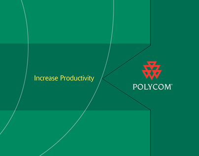 Polycom Increase Productivity DMP with a Die-cut