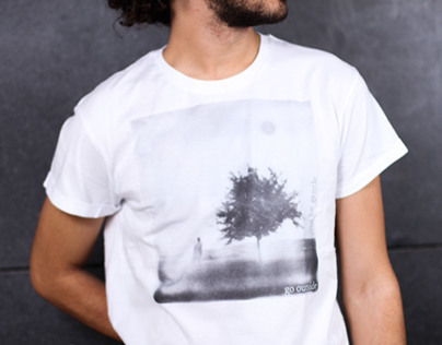 go outside and be gentle - sustainable men's tee
