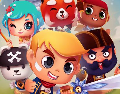 Tiki Monkeys - Mobile Game
