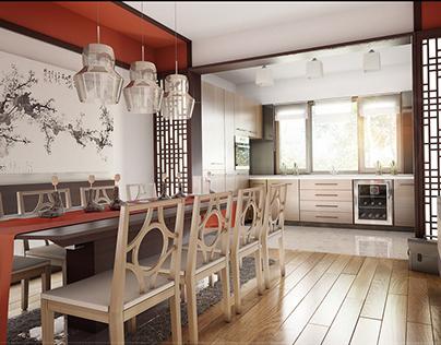 Interior design_3dvisual