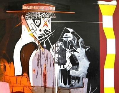 Gareth Sansom Paintings #13