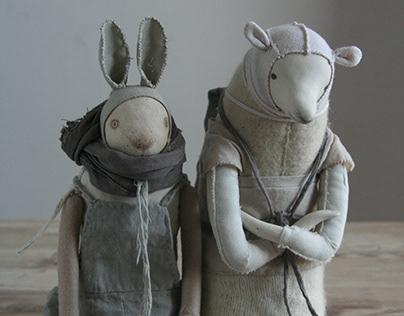 Mr Christer Rabbit and Mr Bertil Holm