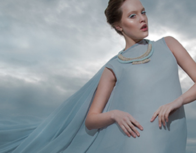Lenara Osman accessories (Blue collection)