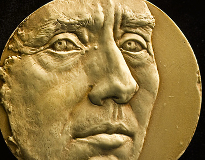 Sculpture of Royal Mint Chief Engraver