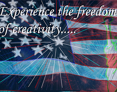Freedom of Creativity sign