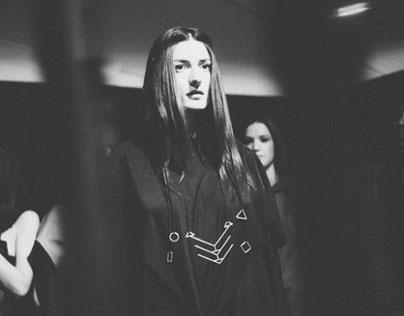 Vika Tonu for Alexandru Nimurad '4D' A/W 2015