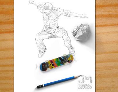 Skater Draw