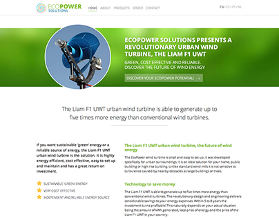 Ecopower.do - A blazingly fast website