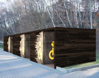 Box Toilet - Gdynia, Poland [05.2014]