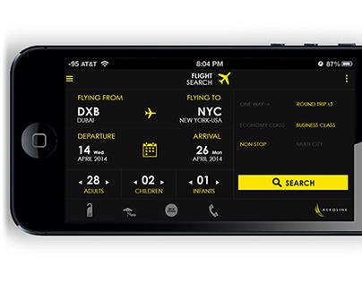 Aeroline Mobile App