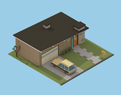 '30 isometric renders in 30 days' Round 2