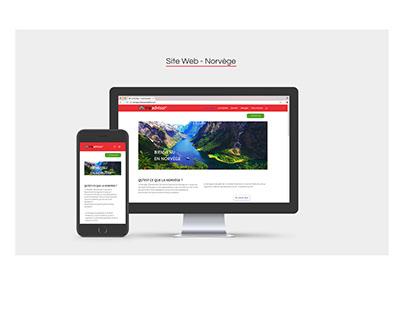 SiteWeb - Norvège