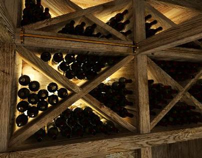 wine cellar///piwniczka na wino