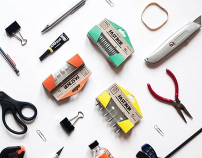"""Fix-It-Fastener"" [Packaging Design]"
