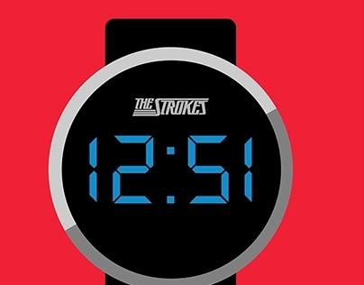 The Strokes Clock