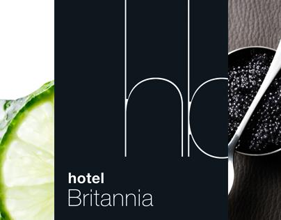 Hotel Britannia - Logo design · Grafisk ID