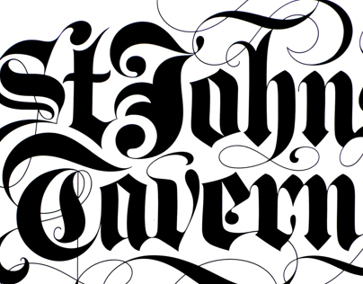 Blackletter scripts 1980—1995