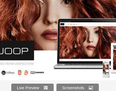 JOOP - Full Screen Woocommerce / Portfolio Theme