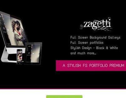Zagetti - Responsive Portfolio Wordpress Theme