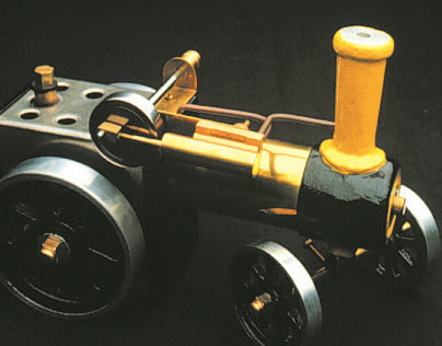 Working Model Steam Train | Mark Vozzo (1991)