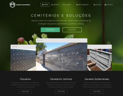 Website Gavetários Mondini
