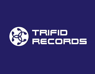 Trifid Records logo and merchandise