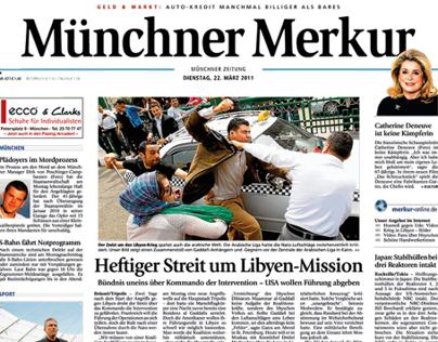 Newspaper Relaunch – Müchner Merkur