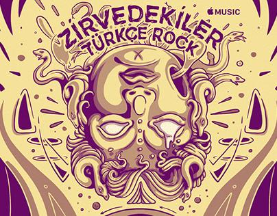 APPLE MUSIC / Zirvedekiler Cover