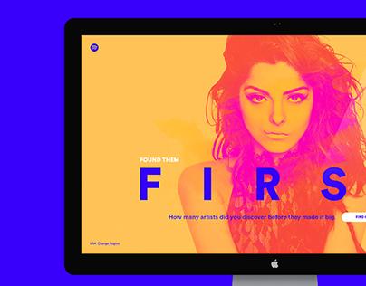 Spotify — Found Them First