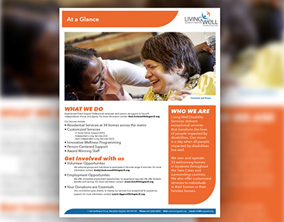 Living Well Disability Services Handout