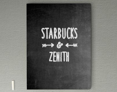 Starbucks Chalkboard-Themed Presentation
