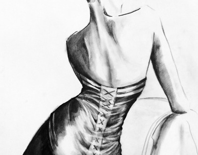 Fashion Illustrations by Tamara Novikova