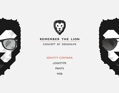 Remember the Lion Corporate Identity